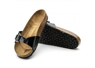 birkenstock madrid noir-vernis bk040303 65,00€