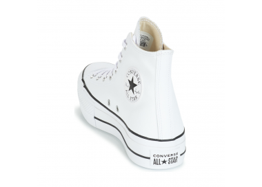 Chuck Taylor All Star Lift Leather blanc 561676c 95,00€