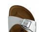 birkenstock madrid argent bk040413 femme-chaussures-mules-sabots