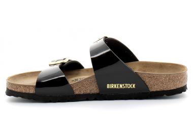 birkenstock sydney birko-flor® noir-or bk1000551 75,00€