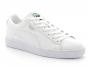 puma suede classic en cuir blanc 380569-01