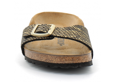 birkenstock madrid black-gold bk1018666 65,00€