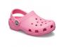 crocs classic log kids rose 204536-669