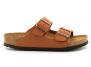 birkenstock arizona w ginger-brown bk1019119 femme-chaussures-mules-sabots