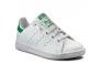 adidas stan smith blanc-vert ba8375----